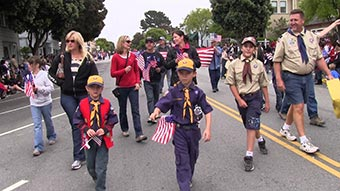 4th of July Parade Boy Scouts