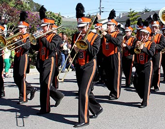 4th of July Parade marching band